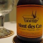 Etikett Flasche Mont des Cats