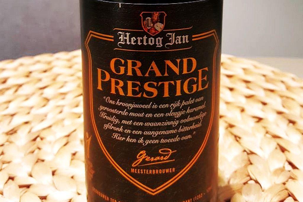 Etikett Hertog Jan Grand Prestige