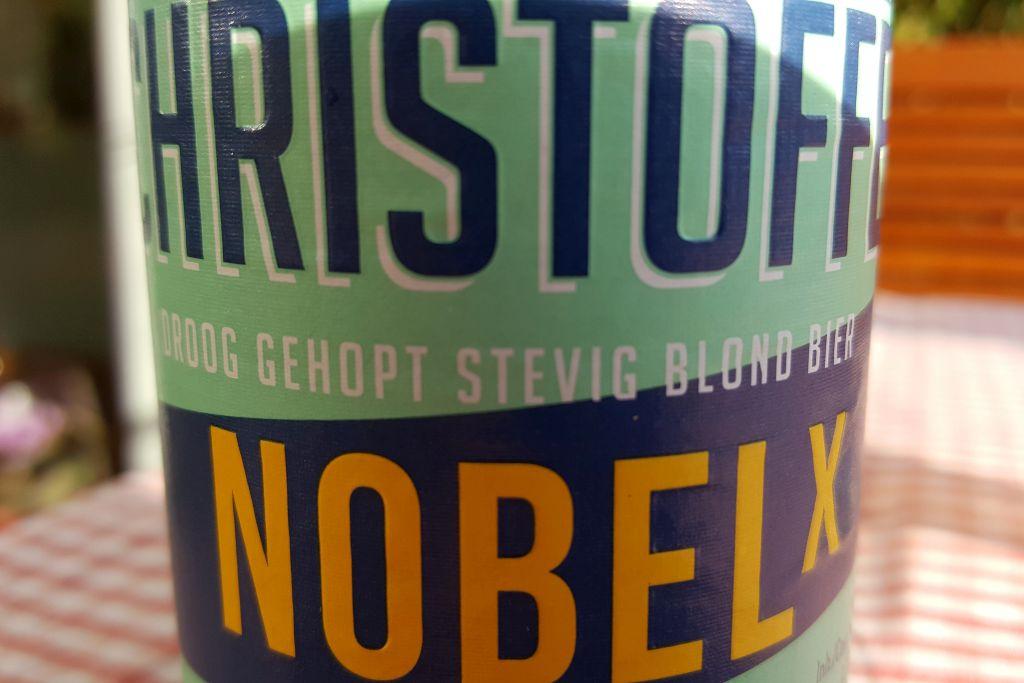 Etikett Christoffel Nobel X groß