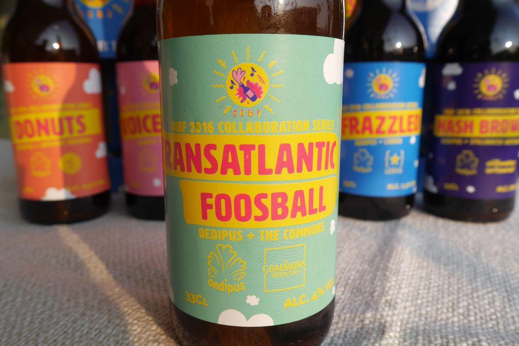 Etikett Transatlantic Foosball Oedipus