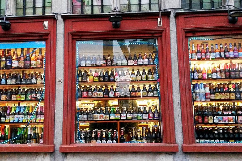 Brügge Bierfenster