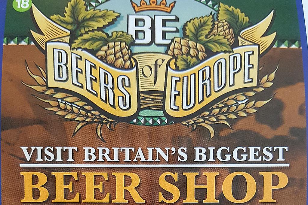 Logo England größter Beershop