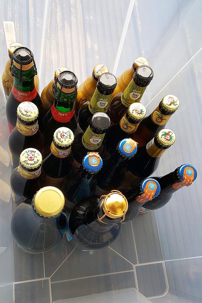 Biertasting Flaschen