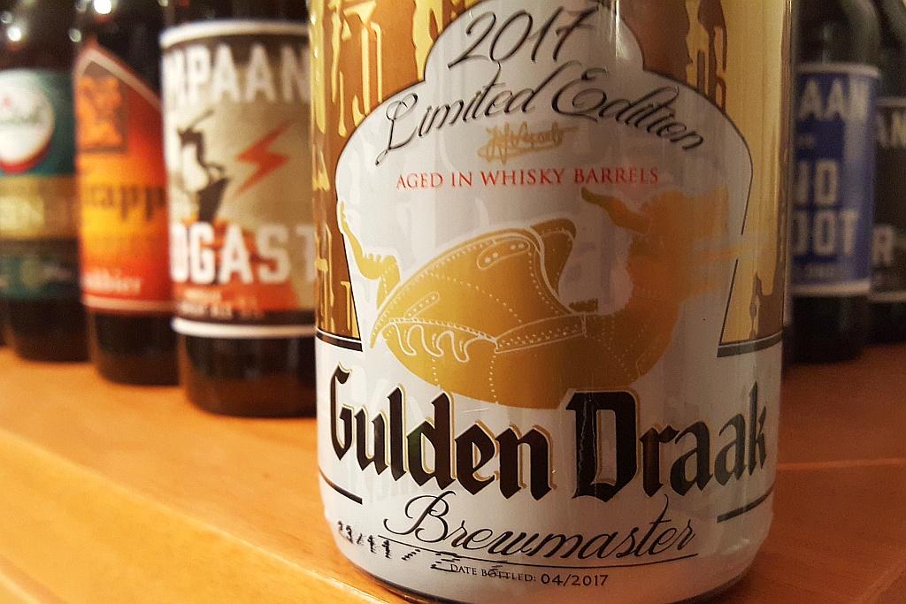 Etikett Gulden Draak Brewmaster Flasche