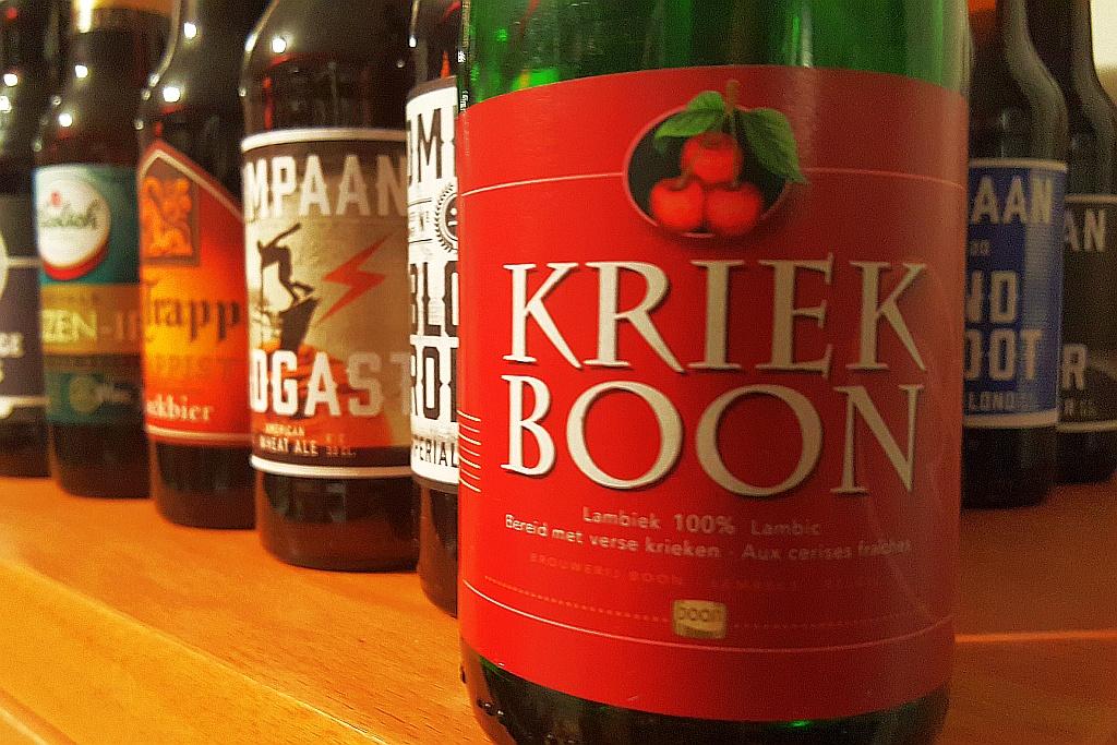 Flasche Kriek Boon