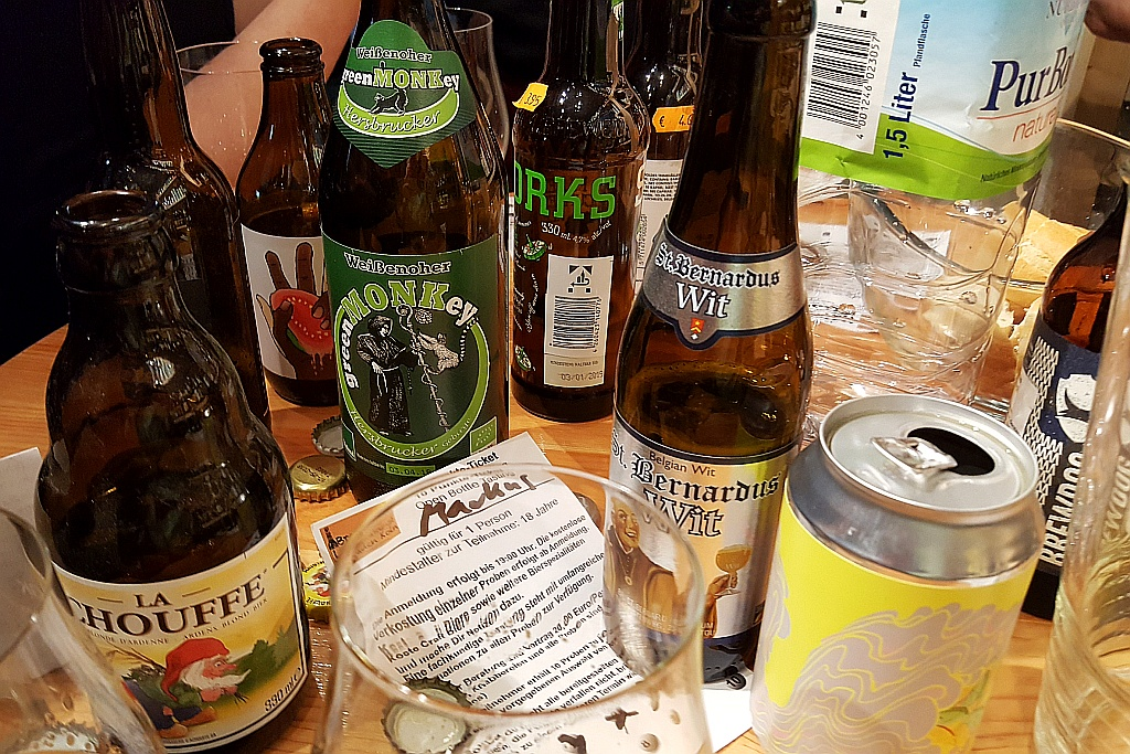 Tisch Open Bottle Tasting Köln