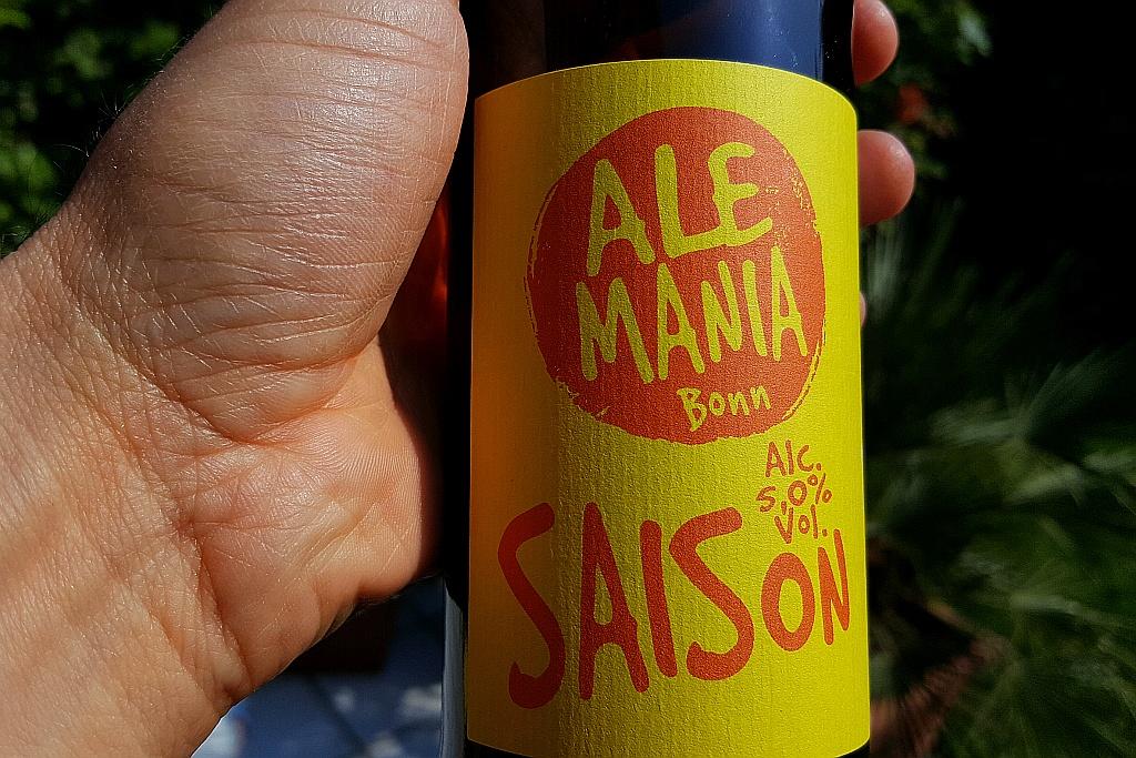 Etikett Saison Ale Mania