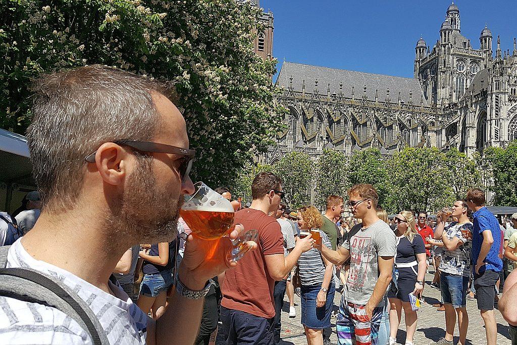 Tasting Des Bosch Speciaalbier-Festival