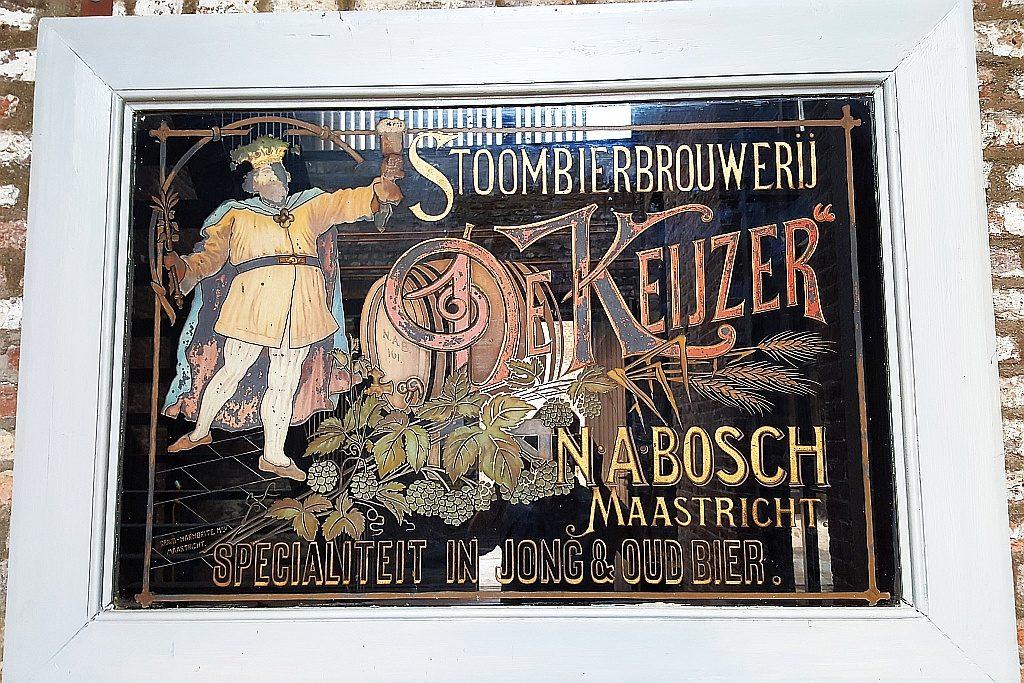 Schild Brouwerij De Keijzer Maastricht