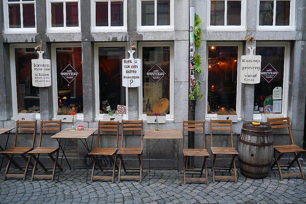 Maastricht Kaasbar Terrasse