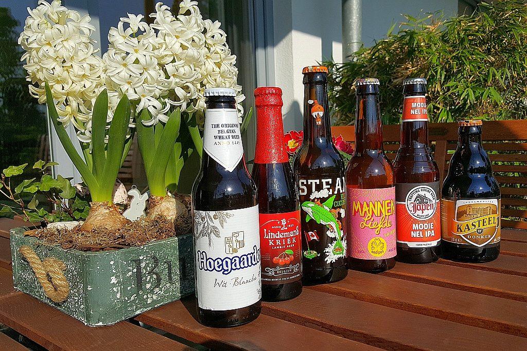 Übersicht Biere Foodpairing