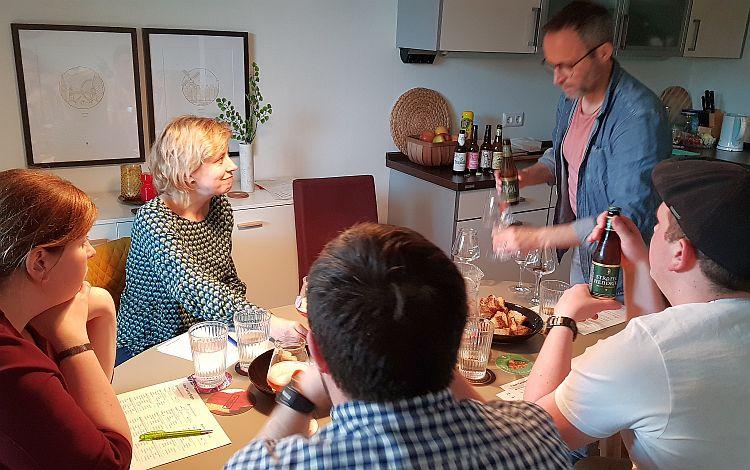 Bier-Verkostung in Köln Biersommelier Jens Ostrominski