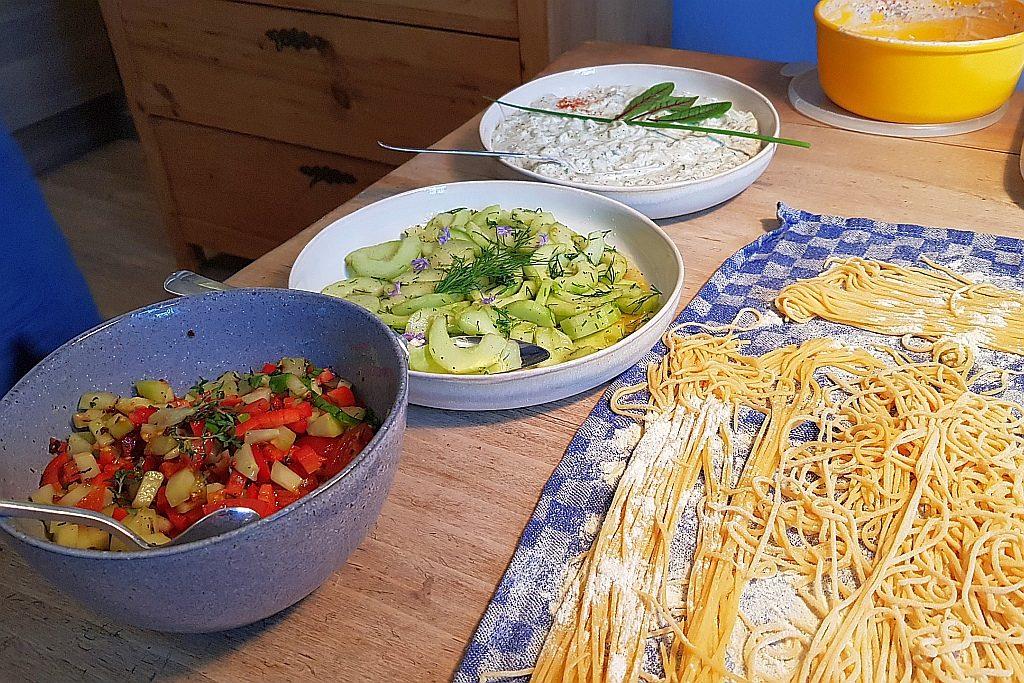 Foodpairing Gurken Nudeln