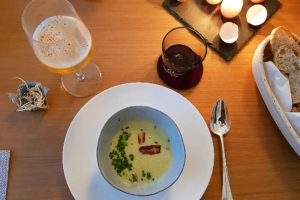 Supperclub Spargelsuppe