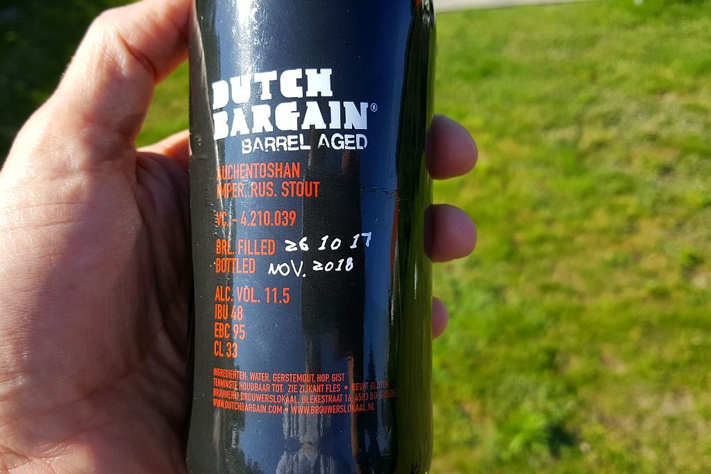 Etikett BA Russian Imperial Stout DB