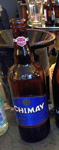 Flasche Chimay Bleue