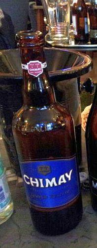 Flasche Chimay Bleue