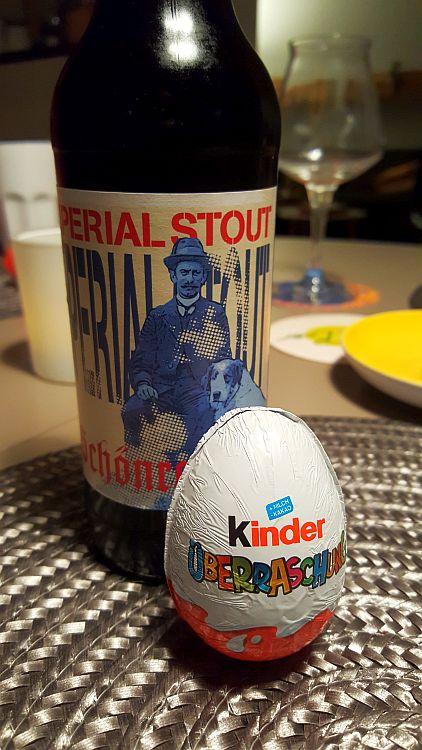 Foodpairing Überraschungsei Schokolade Stout
