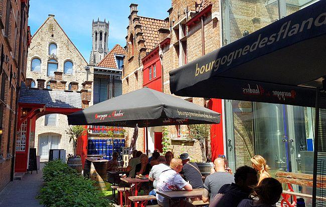 Innenhof Bourgogne des Flandres