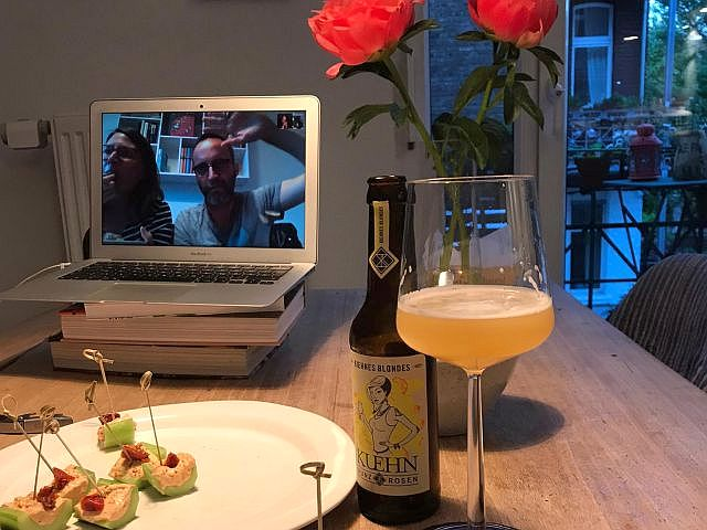 Online-Bier-Tasting mit Supper Club