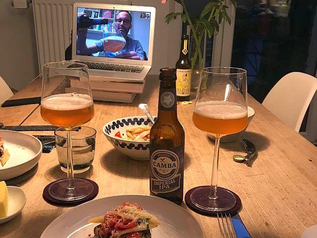 Bier Tasting Online mit Spargel Bruschetta und IPA